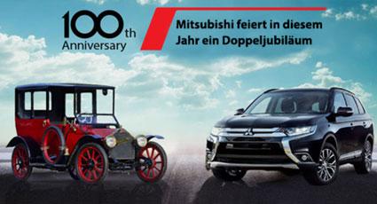 100 anni Mitsubishi
