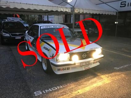 OPEL Ascona Replica 400