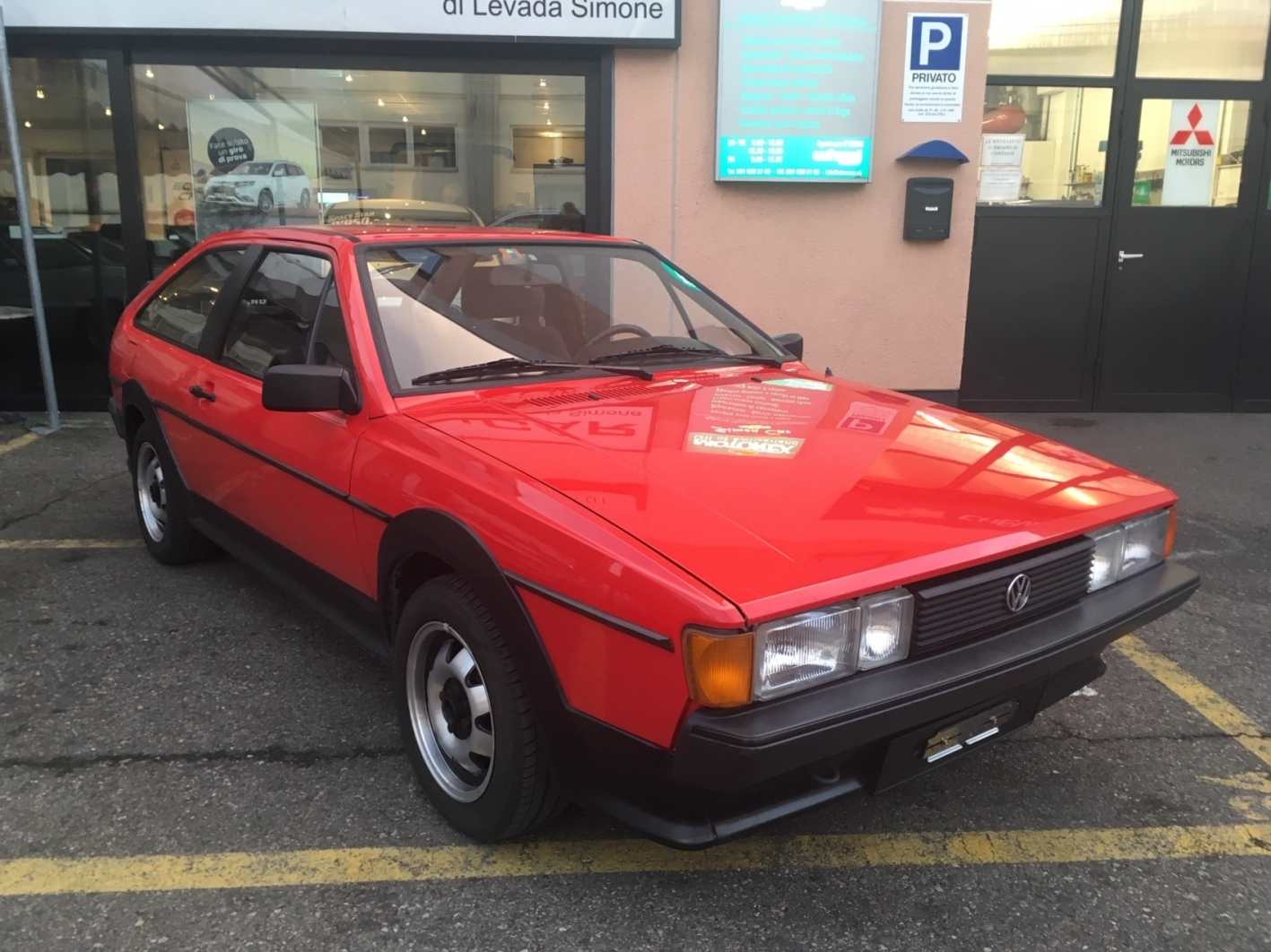 VW Scirocco 1800 GT